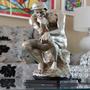 Escultura / Estatua / Estatueta O Pensador Em Resina - Bu172