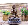 Buda Chakras Deus Riqueza Fortuna Resina 16 Cm