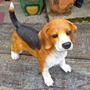 Cachorro Beagle Resina Para Decoração, Basset Pastor Alemão