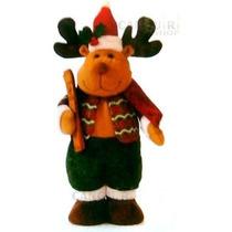 Boneco Rena Do Papai Noel - Decoração De Natal