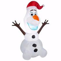 Boneco Olaf Frozen Natalino Inflável Importado