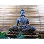 Buda Hindu Decoração Saúde Resina Estatua Chakras 32 Cm G