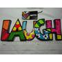 Romero Britto Palavra Laugh Word Decor