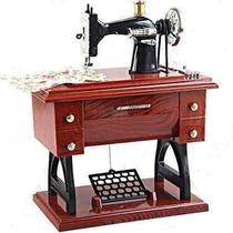 Caixa De Musica - Miniatura Maquina De Costura
