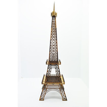 Torre Eiffel Miniatura Em Mdf 65cm Para Decoração