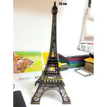 Torre Eiffel Em Miniatura - 26 Cm