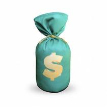 Peso De Porta Saquinho De Dinheiro - Peso De Papel - Eba