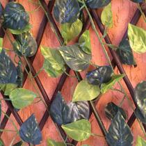 Treliça De Madeira Correntes Hera Jardim Decoração 1,75 Mts