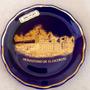 Prato Porcelana Cobalto Com Ouro 8cm