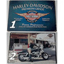 Placa Decorativa Em Metal 20 X 30cm Harley Davidson E Cia