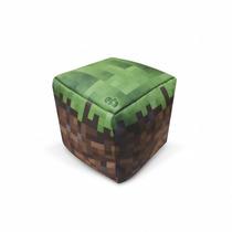 Peso De Porta Minecraft Terra - Peso De Papel - Eba