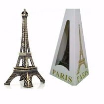 Decoração Miniatura Torre Ferro Eiffel Paris Tam 32cm B