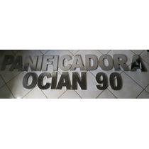 Números Residenciais De 30cm Em Aço Inox (letras E Fachadas)