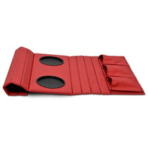 Esteira Bandeja Sofá Porta Copos Controles Vermelha Promoção
