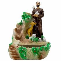 São Francisco De Assis - Fonte De Água - Imagem Religiosa