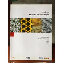 Livro Gestão De Materiais De Construção Souza E Tamaki Pini