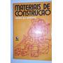 Livro Materiais De Construção