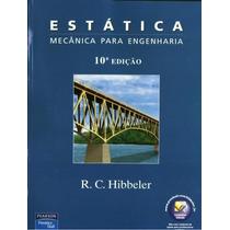 Livro Mecânica Para Engenharia Estática Hibbeler 10° Ed