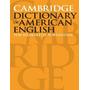 Cambridge Dictionary Of American English - Livro Novo