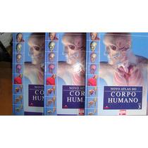 Livros - Novo Atlas Do Corpo Humano - 3 Volumes