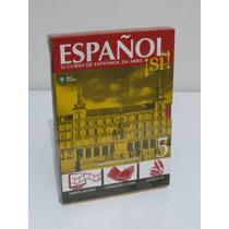 Espanol Sí! Volume 5 Espanhol Da Abril Livro + Dvd + Cd Novo