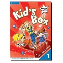Livro Kid`s Box American English Level 1 Student`s Book