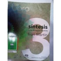 Sintesis Lengua Española Libro 3