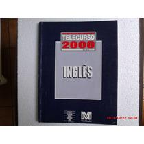 Livros - Telecurso 2000 1º Grau - Ingles