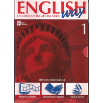 Curso English Way Vol. 1 ( Livro, Cd E Dvd )