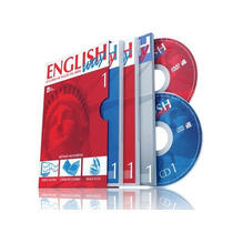 Dvd Curso Completo De Inglês English Way Áudio,vídeo E Texto