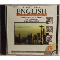 Cd / Cd-rom Curso: Learn To Speak English 3 - Frete Grátis