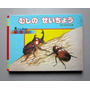 Raro Livro Japonês Sobre Insetos - Ilustrações Laminadas