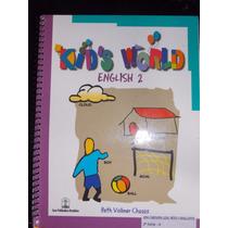 Kids World English 2- Beth Vollmer Chagas- Sem Cd