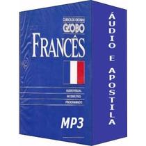 O Melhor Curso De Francês Globo Completo + Brindes Em Dvd