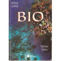 Livro Bio Volume Único Sania Lopes 1ª Edição 2000