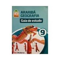 Livro Araribá Geografia Guia De Estudo 9 Editora Moderna