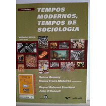 Livro Tempos Modernos, Tempos De Sociologia Volume Único