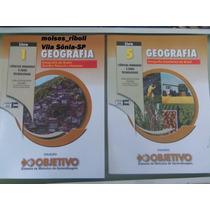Livros Geografia Nº 1 E 5 Coleção Objetivo Q