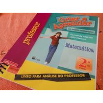 Matemática Criar E Aprender 2ºano - ( Livro Do Professor )