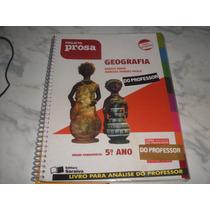 Geografia - Projeto Prosa 5º Ano- Livro Do Professor