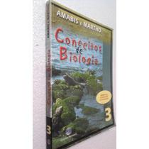 Livro Conceitos De Biologia 3 - Amabis E Martho