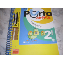 Matemática Porta Aberta 2º Ano - Livro Do Professor