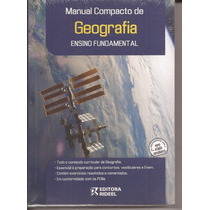 Livro Manual Compacto De Geografia Ensino Fundamental.