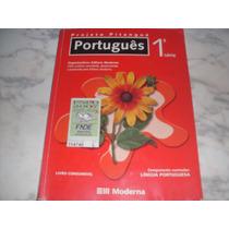 Livro Português 1ª Série Projeto Pitanguá Editora Moderna