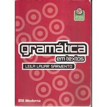 Livro Gramática Em Texto 2ª Edição 2005