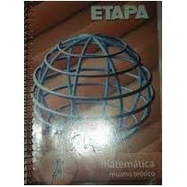 Etapa- Matematica- Resumo Teorico Excelente Estado