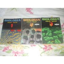 Biologia - Coleção Com 3 Volumes - César E Sezer