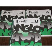 Coleção Anglo Alfa Exercícios Volumes 3, 4 E 8
