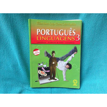 Livro Português Linguagens 3 Ensino Médio 6ª Ed. 2008 Raro