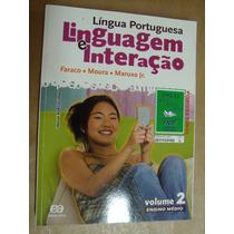 Linguagem Interaçao Lingua Portuguesa Faraco Vol 2 Seminovo
